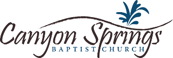 Canyon Springs Baptist Church